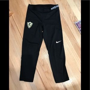 Nike Pro Compression Leggings.  Size M